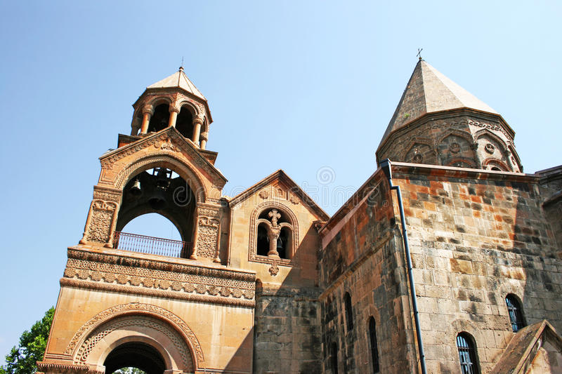 forntida apostolic armenia kyrka fotografering för bildbyråer
