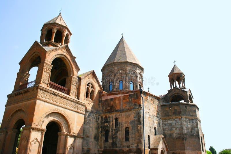 Forntida Apostolic kyrka i Armenien royaltyfri bild