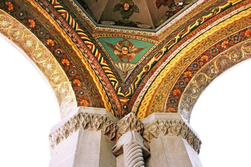 Forntida Apostolic kyrka i Armenien royaltyfri fotografi