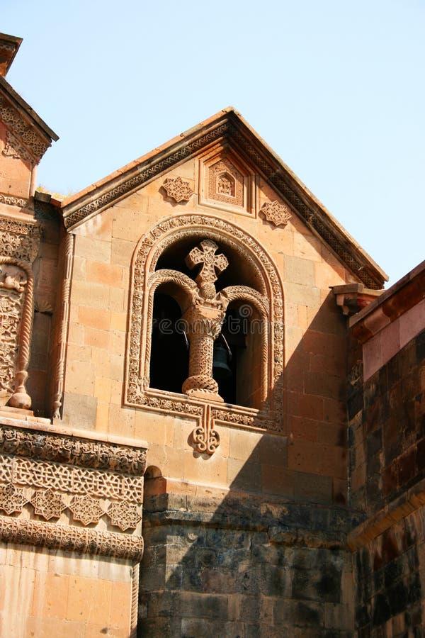 Forntida Apostolic kyrka i Armenien arkivfoton