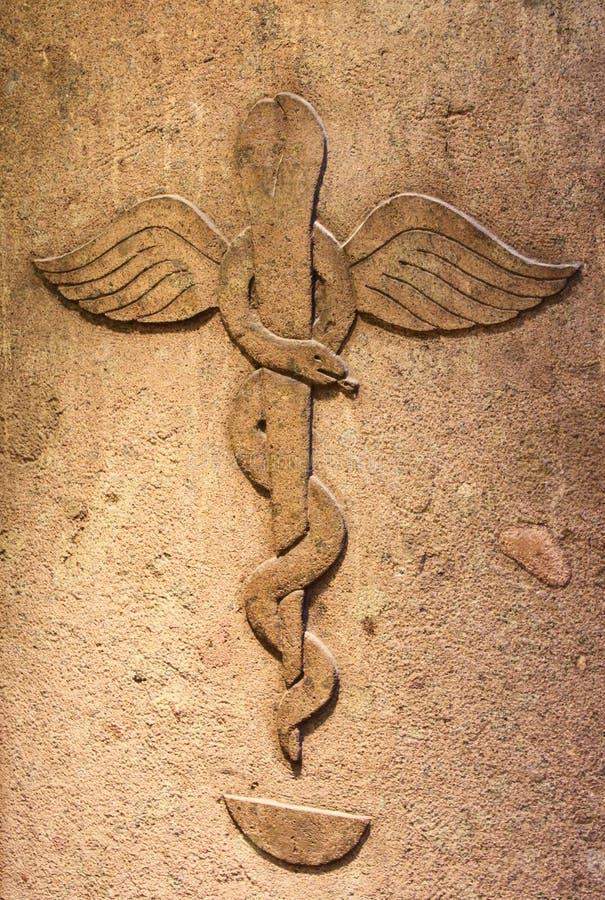 forntida apotek royaltyfri bild