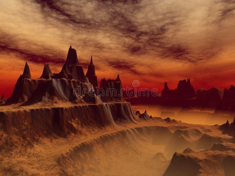 forntida arena royaltyfri bild