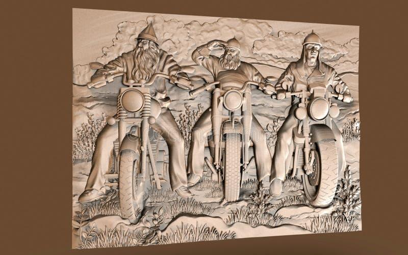 Forntida arkitektoniska bilder av dekoren, konstnärlig riktning royaltyfri bild