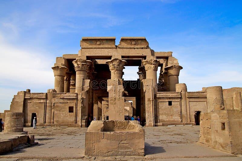 forntida arkitektur egypt arkivbilder