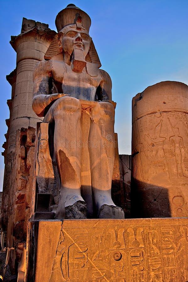 forntida arkitektur egypt royaltyfria bilder