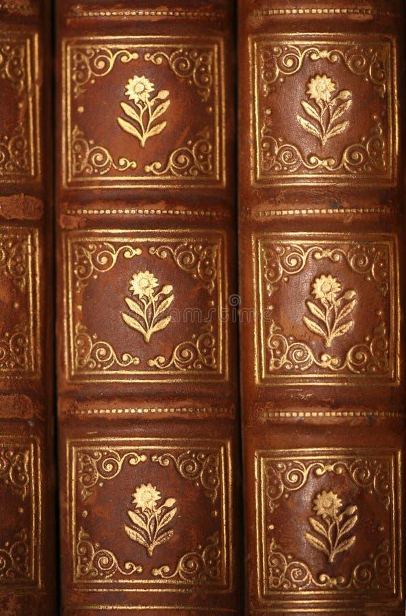 forntida böcker royaltyfria bilder