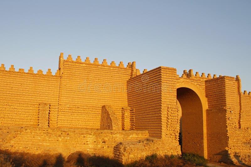 Forntida Babylon royaltyfri bild