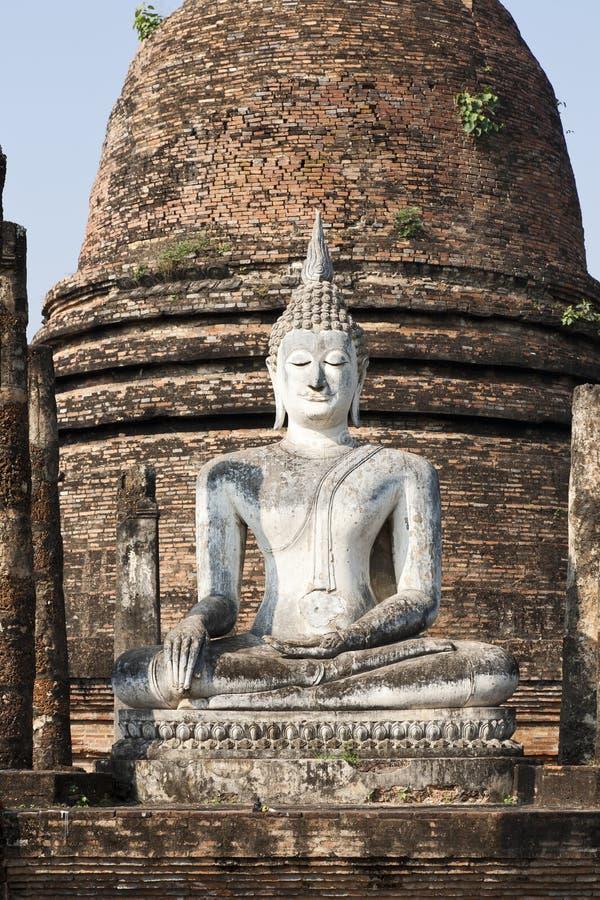 forntida buddha siam royaltyfri fotografi