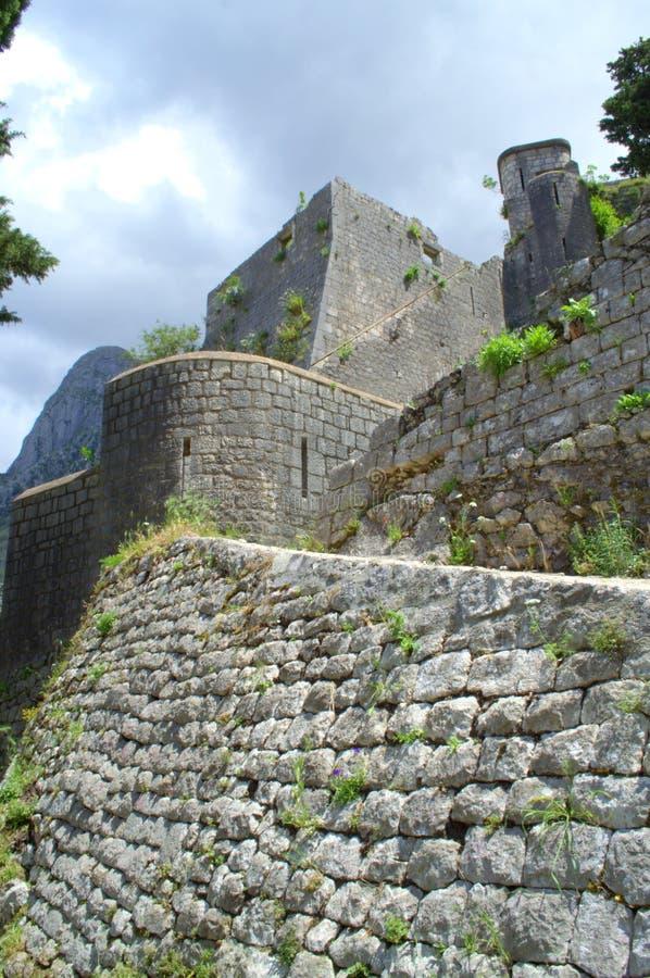 forntida citadel royaltyfria bilder