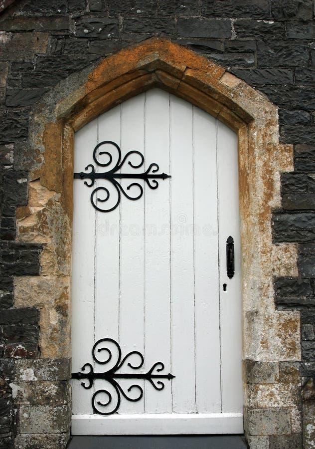 forntida dörröppning royaltyfria bilder