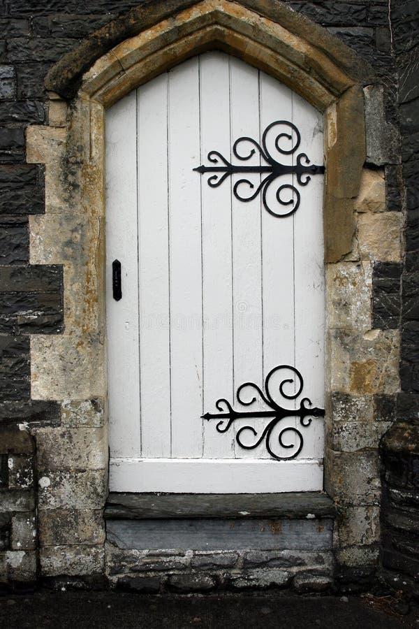forntida dörröppning arkivfoton