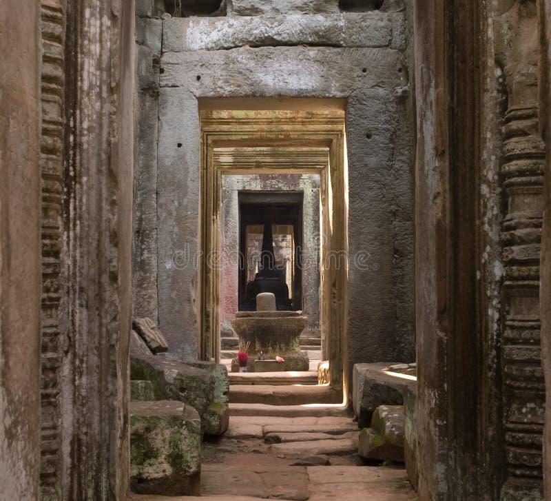 forntida dörröppningar royaltyfri foto