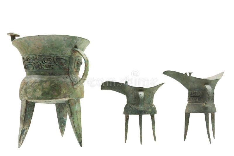 forntida dricka utensils arkivbilder