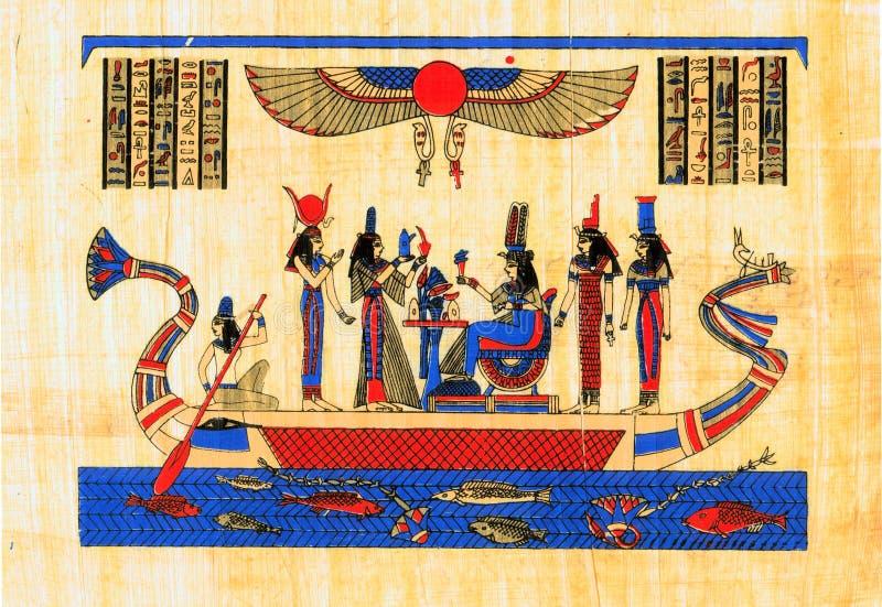 forntida egyptisk papyrus