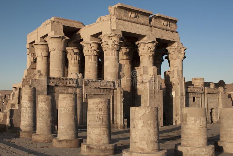 forntida egyptiskt tempel arkivfoton