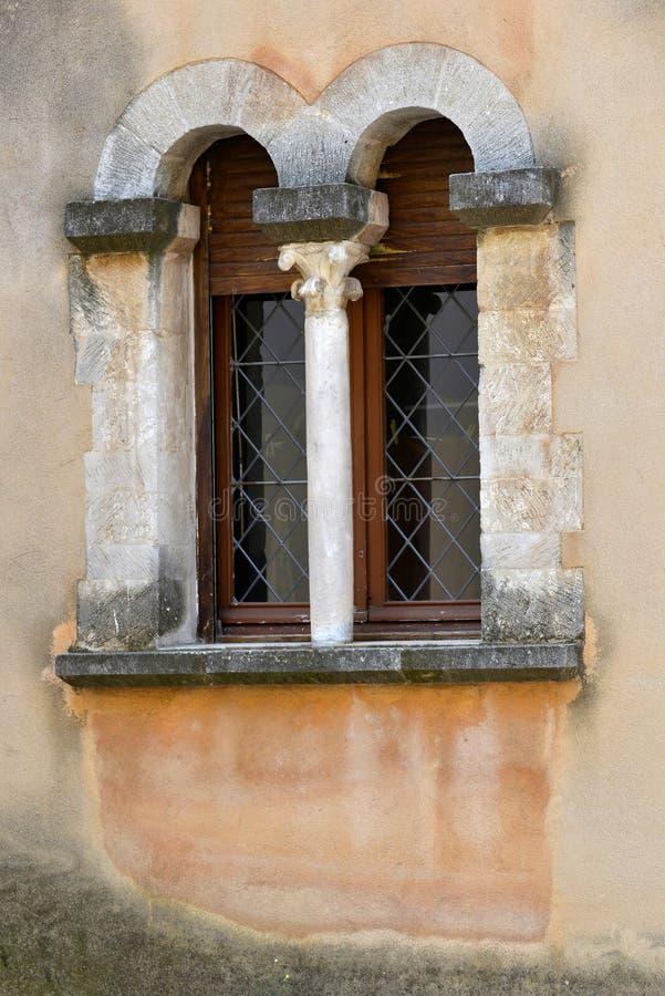forntida fönster royaltyfria foton