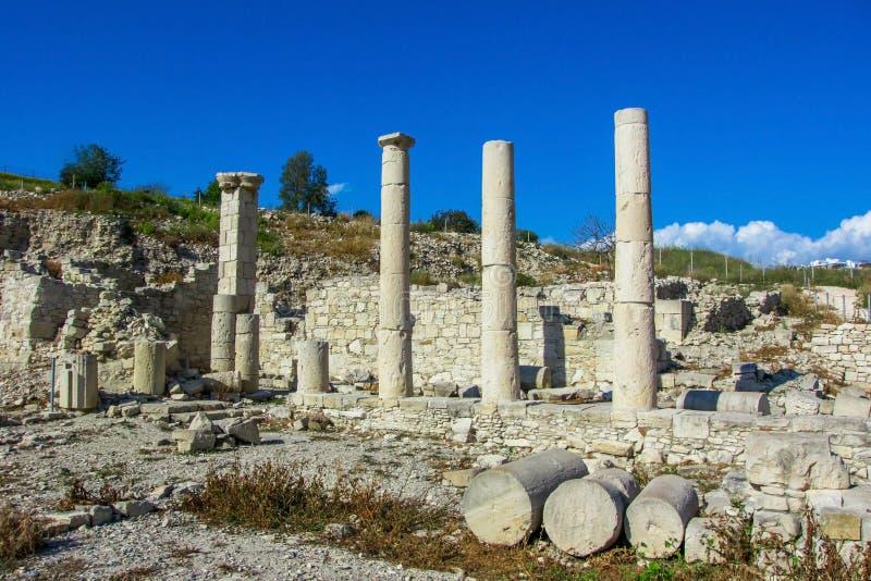 Forntida fördärvar i området Amatus royaltyfria foton