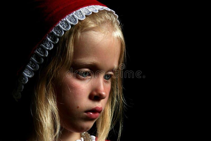 forntida flicka royaltyfri bild
