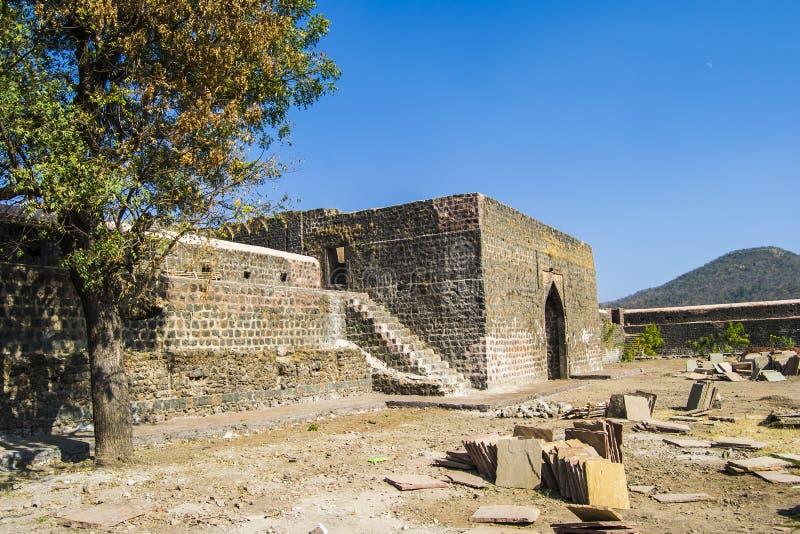 Forntida fort Indien fotografering för bildbyråer