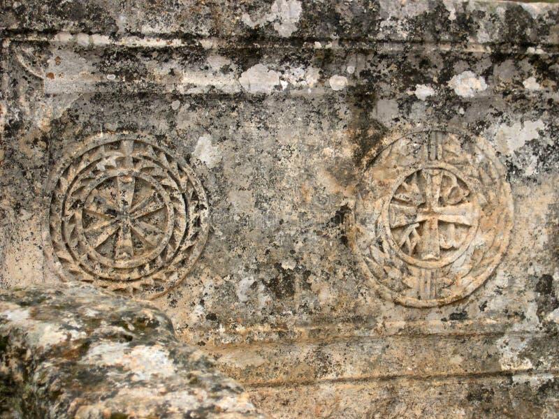 forntida fragment royaltyfri foto
