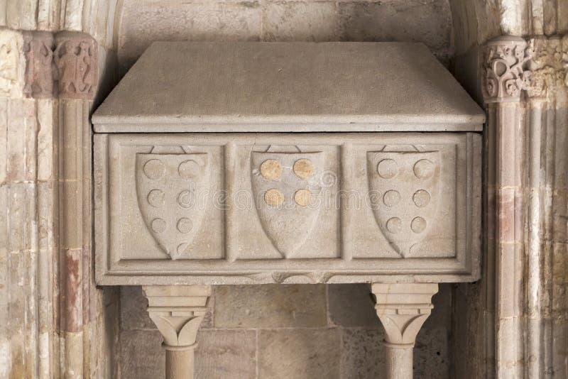 Forntida gravvalv, Barcelona arkivbild