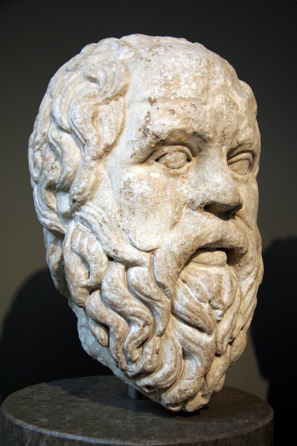 forntida grekisk filosofsocrates fotografering för bildbyråer