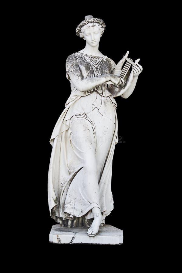 forntida grekisk staty arkivfoton