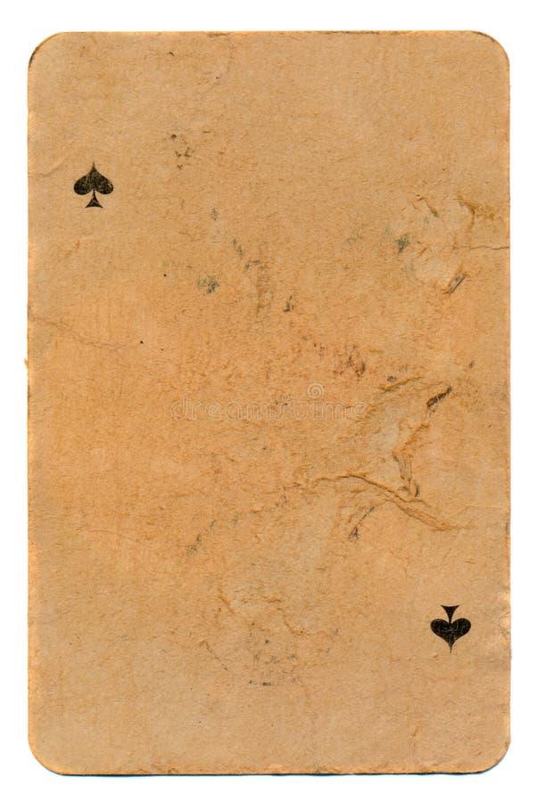 Forntida grunge som spelar pappers- bakgrund för kort royaltyfri bild