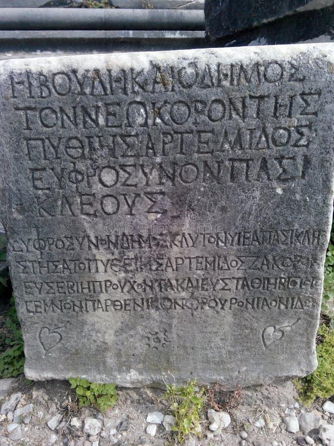 forntida handstilar royaltyfri bild