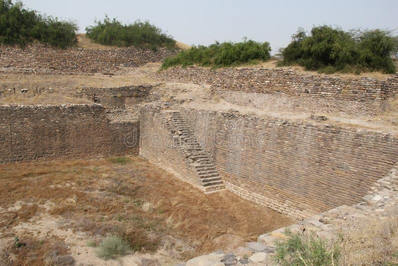 Forntida Harappa civilisation fotografering för bildbyråer
