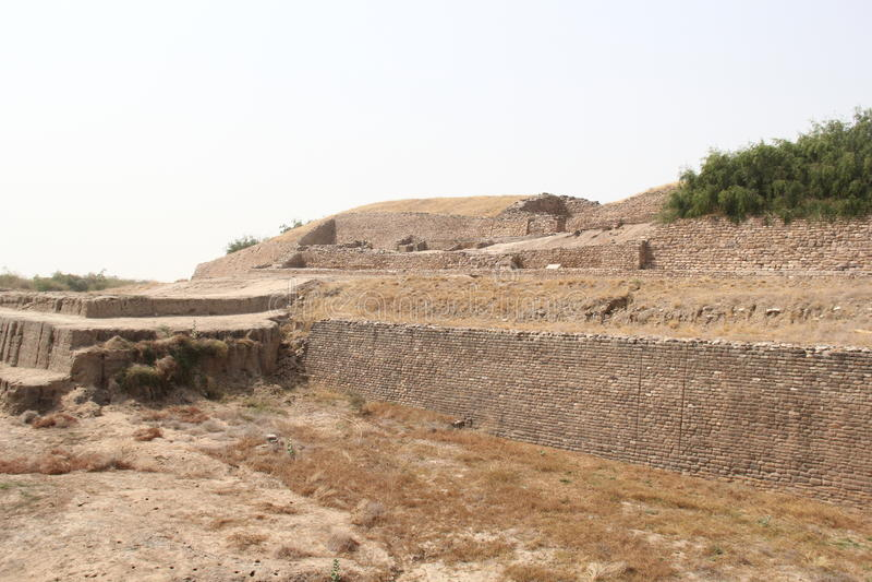 Forntida Harappa civilisation royaltyfri bild