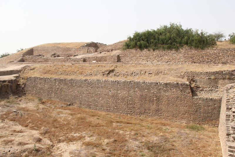 Forntida Harappa civilisation royaltyfria bilder