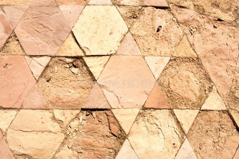 Forntida hebréisk kristen bakgrund med Magen David. royaltyfri foto