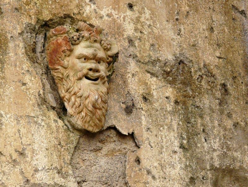 forntida herculaneum italy maskeringssten royaltyfri foto