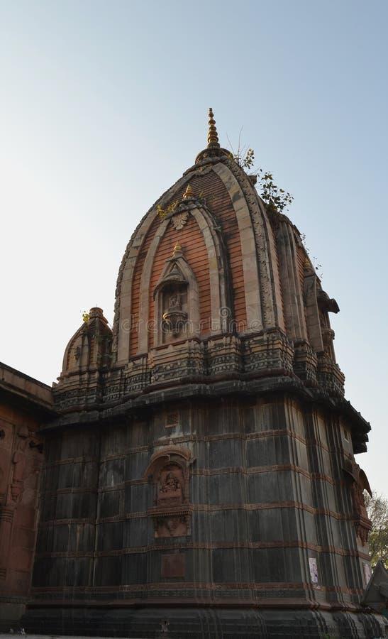 Forntida Holkar struktur Indore royaltyfria bilder