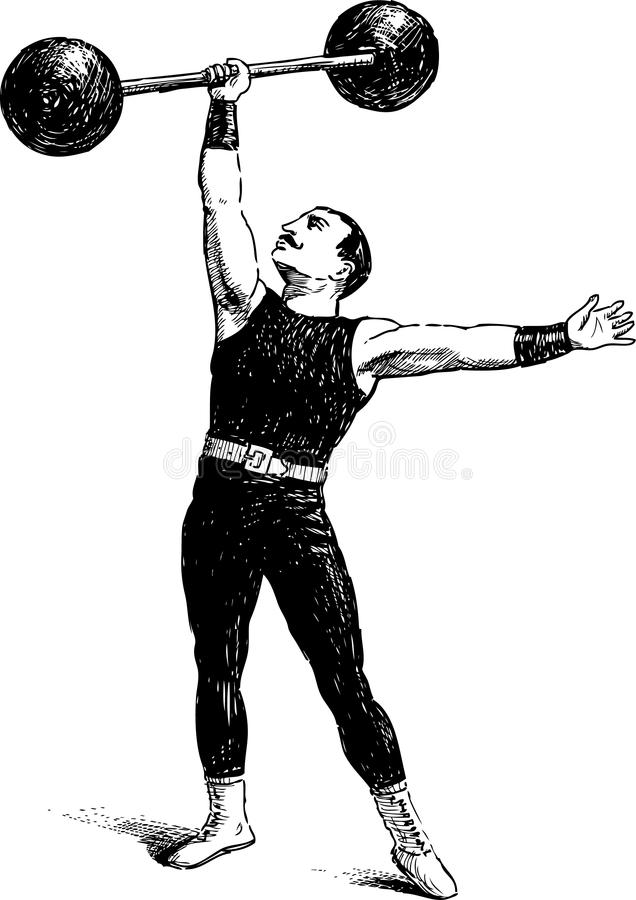 Forntida idrottsman royaltyfri fotografi