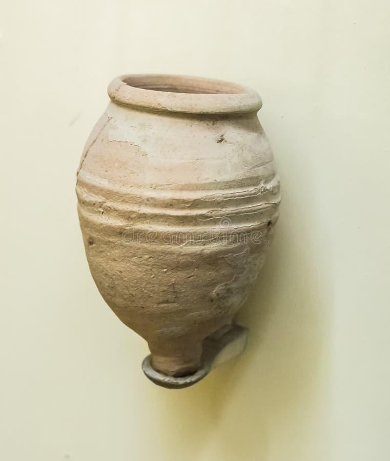 Forntida Indien Nimar för krukmakeri region arkivfoto