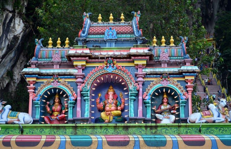 forntida indiskt tempel royaltyfria foton