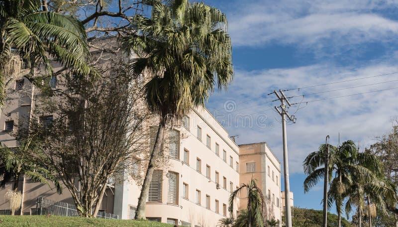 Forntida katolska seminarians 03 för religiös skola arkivbild