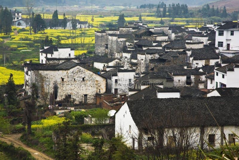 forntida kinesiska byar arkivbilder