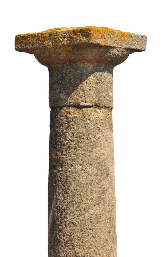 forntida kolonngrek fotografering för bildbyråer