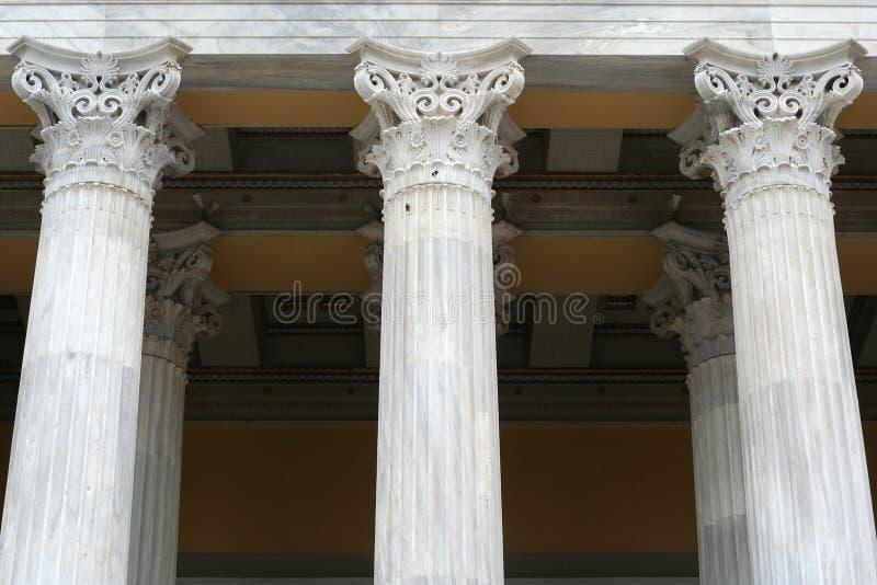 forntida kolonnstil royaltyfria foton