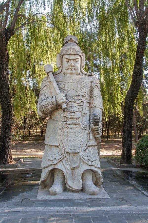 Forntida krigarestaty, Peking, Kina arkivfoton
