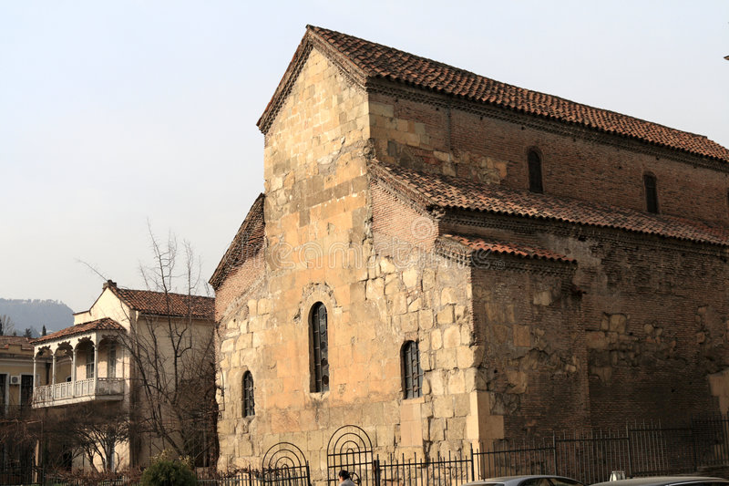 forntida kyrka royaltyfri foto