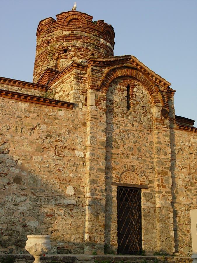 forntida kyrka arkivfoton
