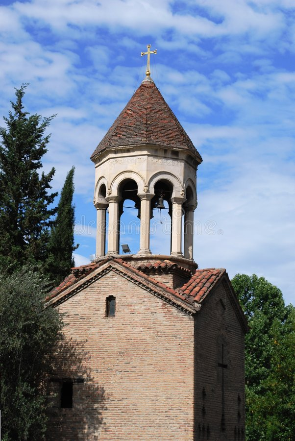 forntida kyrkliga tbilisi royaltyfri bild