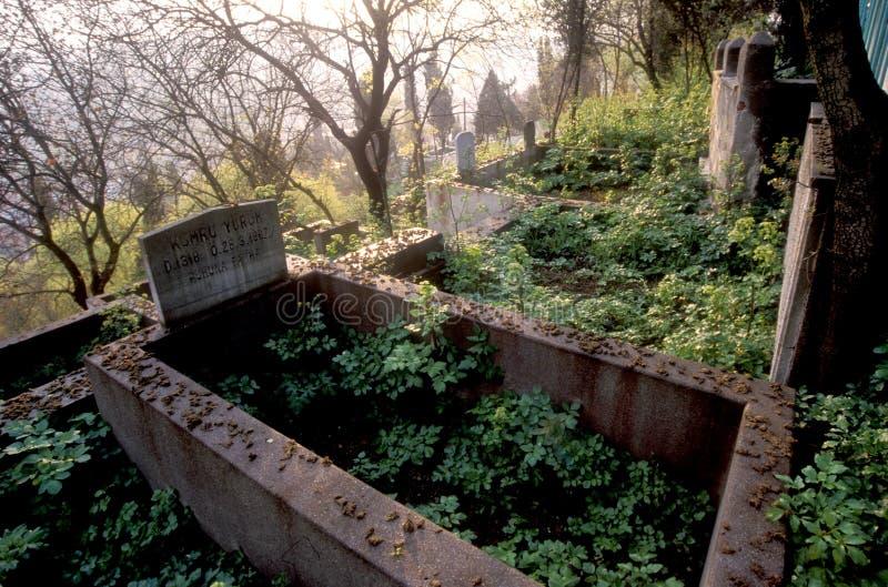 Download Forntida kyrkogård arkivfoto. Bild av grav, gravestone - 276408