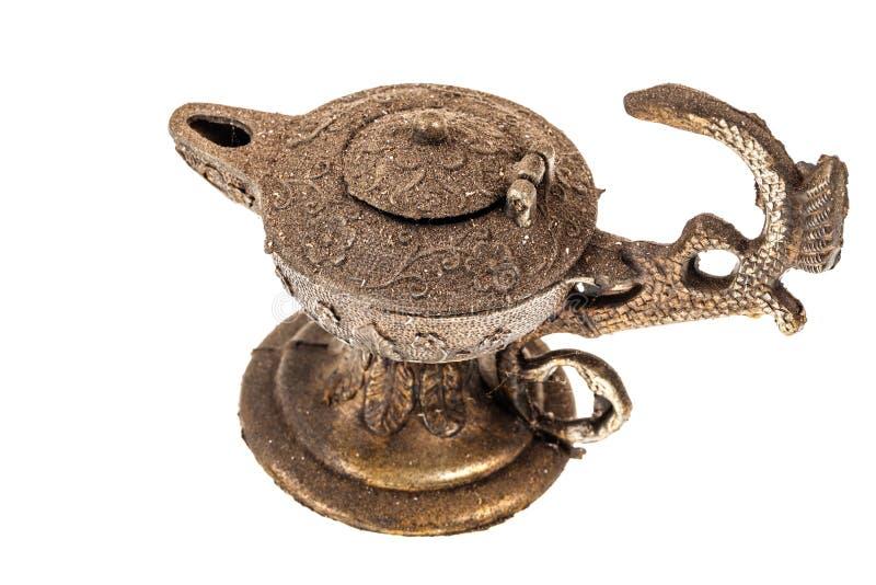 forntida lampa royaltyfria bilder