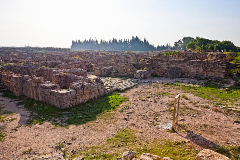 forntida latakia nära lokalsyria ugarit arkivfoton