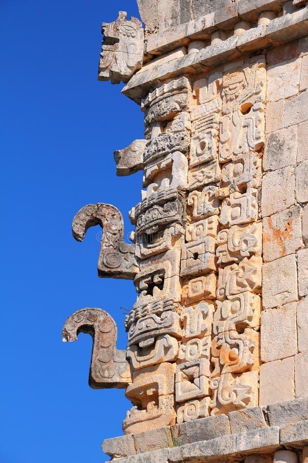 Forntida Mayastad av Uxmal XXI arkivbilder